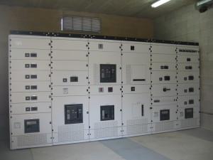 una realizzazione di impianti elettrici