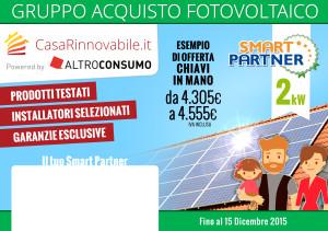 progetto unione europea casa rinnovabile impianto fotovoltaico smartpartner