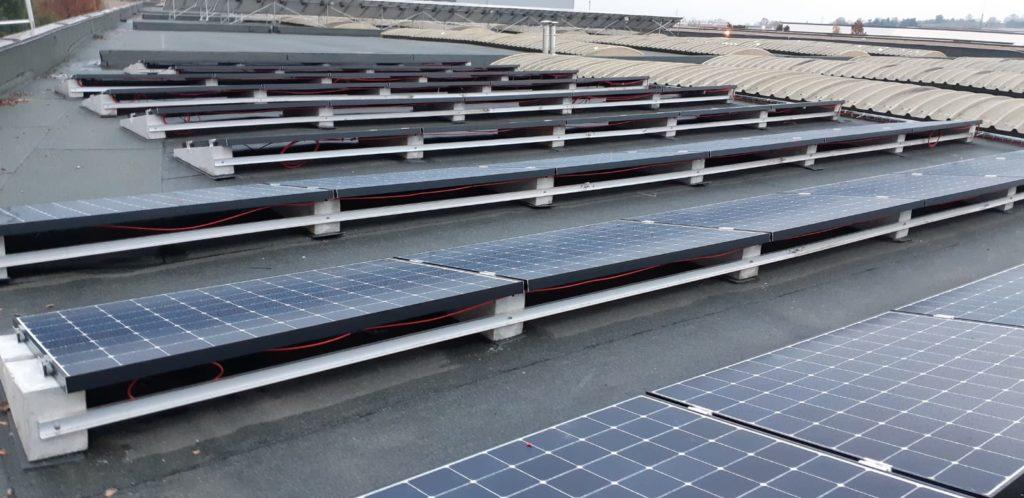fotovoltaico con zavorre